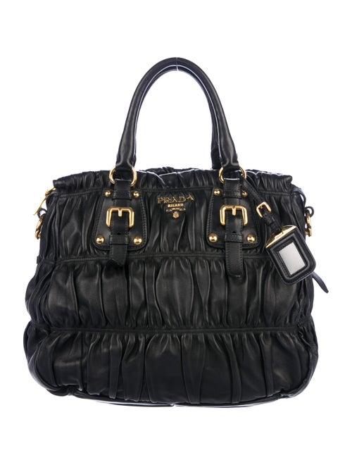 7e6c4587104d Prada Nappa Gaufre Satchel - Handbags - PRA274124