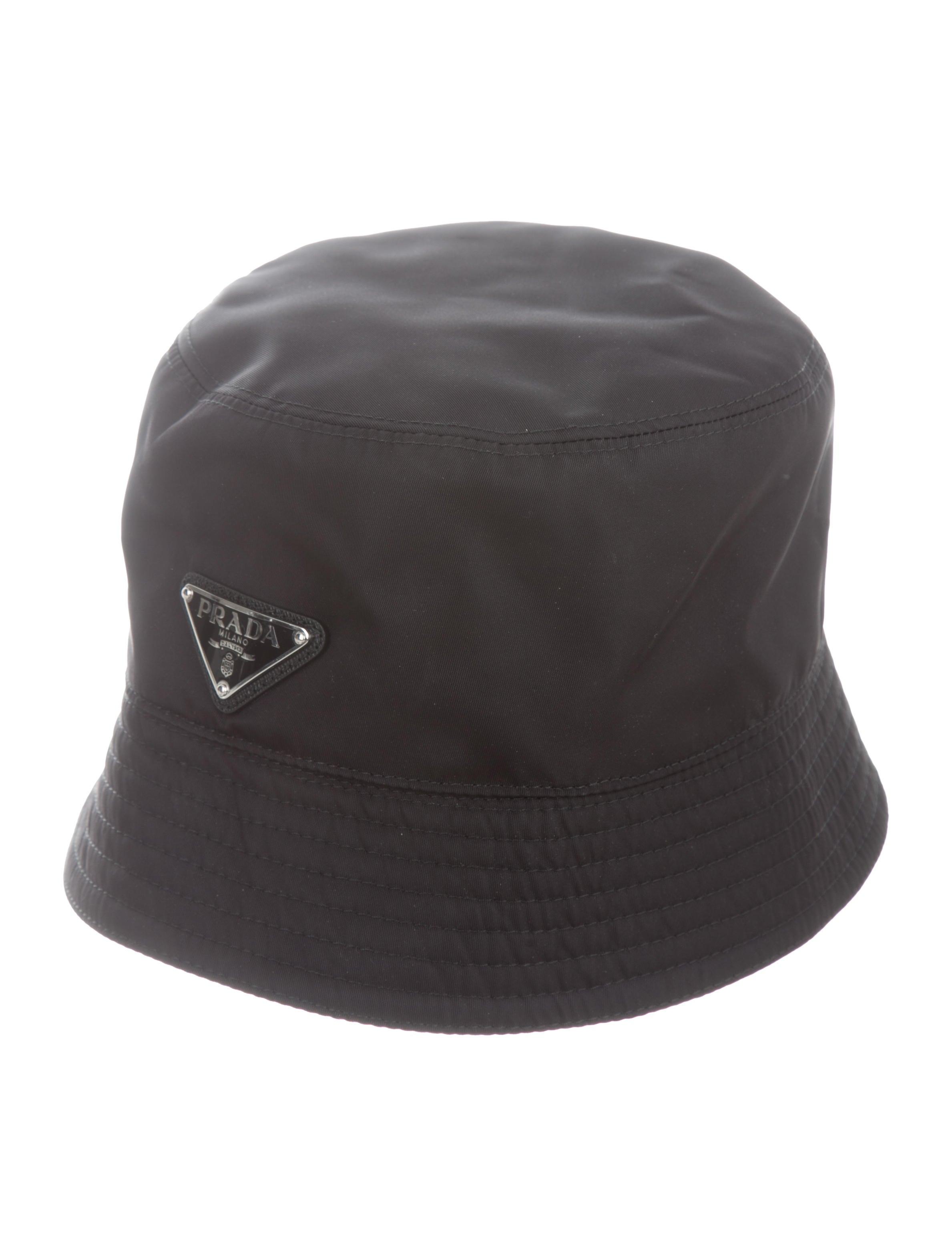 a81cc8c01d6 Prada 2019 Tessuto Bucket Hat - Accessories - PRA274921