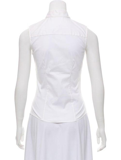5d2a03aece070 Prada Sleeveless Button-Up Top - Clothing - PRA275313