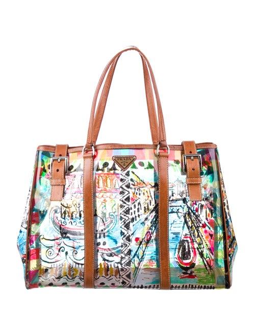 382a1b4945c7 Prada Vinyl Venice Tote - Handbags - PRA275394 | The RealReal