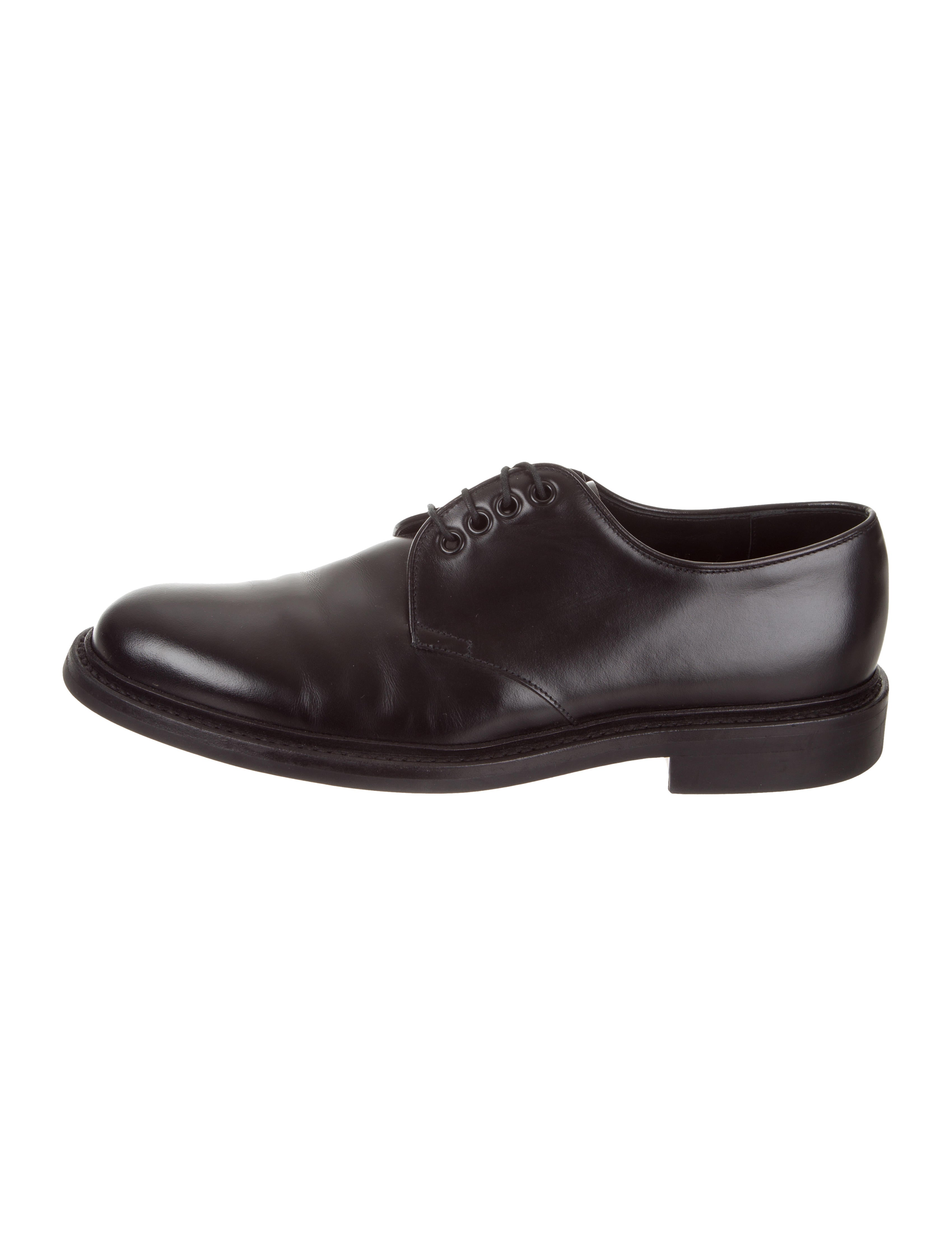 Prada Leather Lace Up Oxfords Shoes Pra275462 The Realreal
