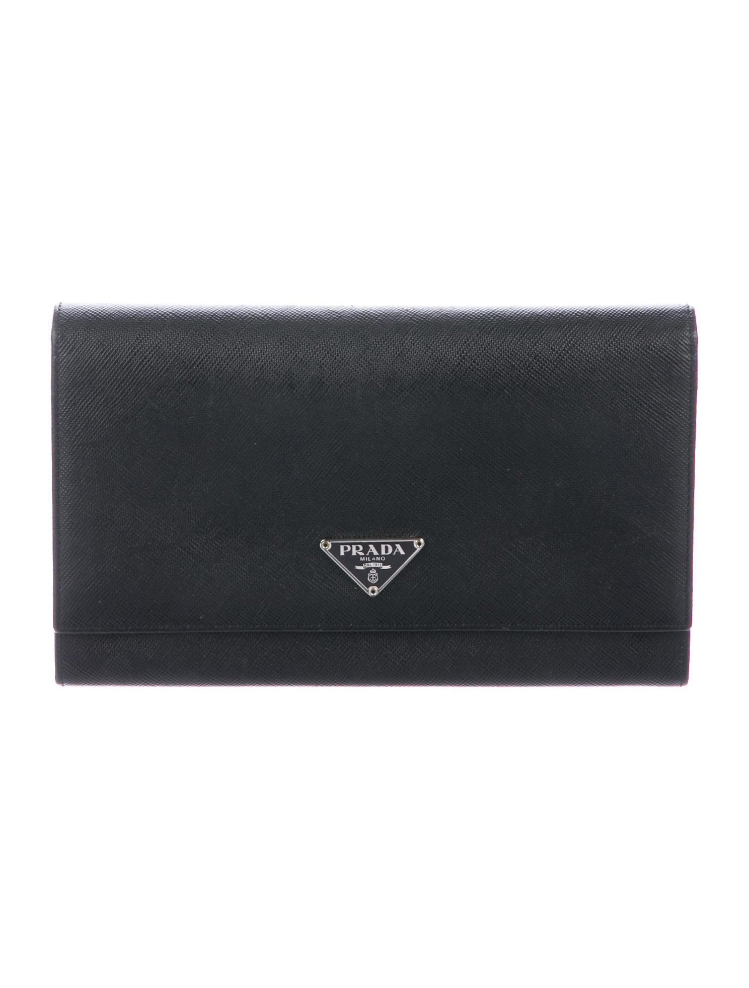 d2f538acf85156 Prada Saffiano Continental Wallet - Accessories - PRA276173 | The ...