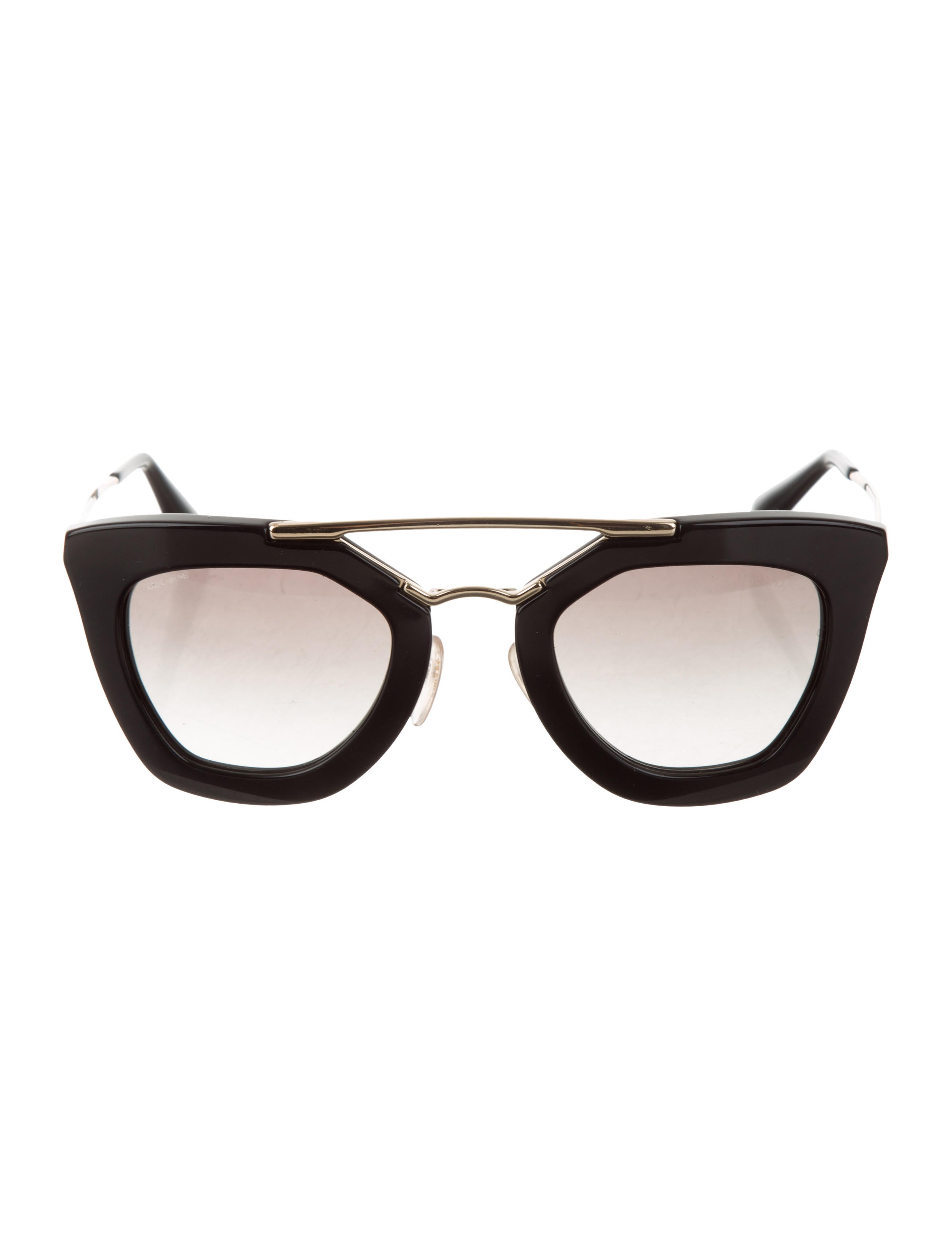 4af0c1f60cc8 Prada Oversize Gradient Sunglasses - Accessories - PRA277768