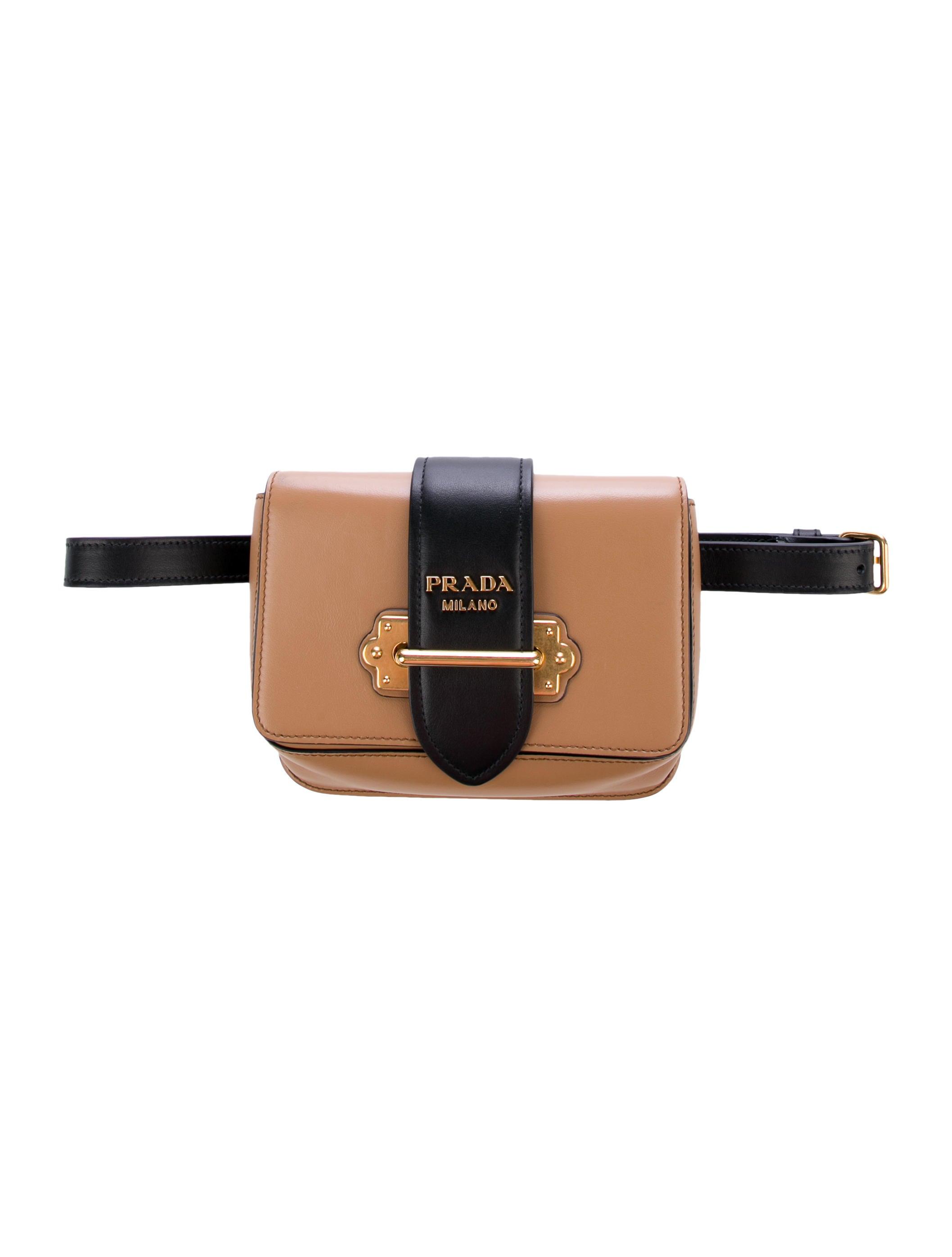 5aaa022031ea Prada Cahier Convertible Belt Bag - Handbags - PRA278194