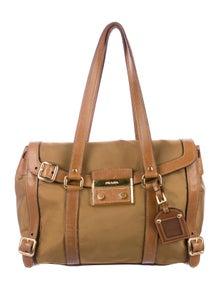 7897ab9a5d91 Prada Shoulder Bags