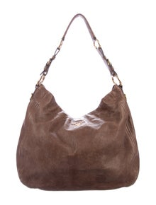 0a9737fb5199 Prada. Vitello Leather Hobo.  495.00 · Prada. Cervo Antik Tote