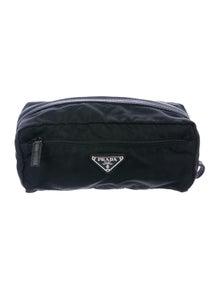 d6ed98d2cf14 Tessuto Gaufre Cosmetic Bag.  145.00 · Prada