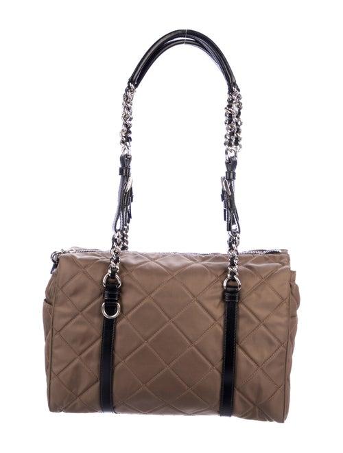 20f5fc777303 Prada Quilted Tessuto Shoulder Bag - Handbags - PRA279586