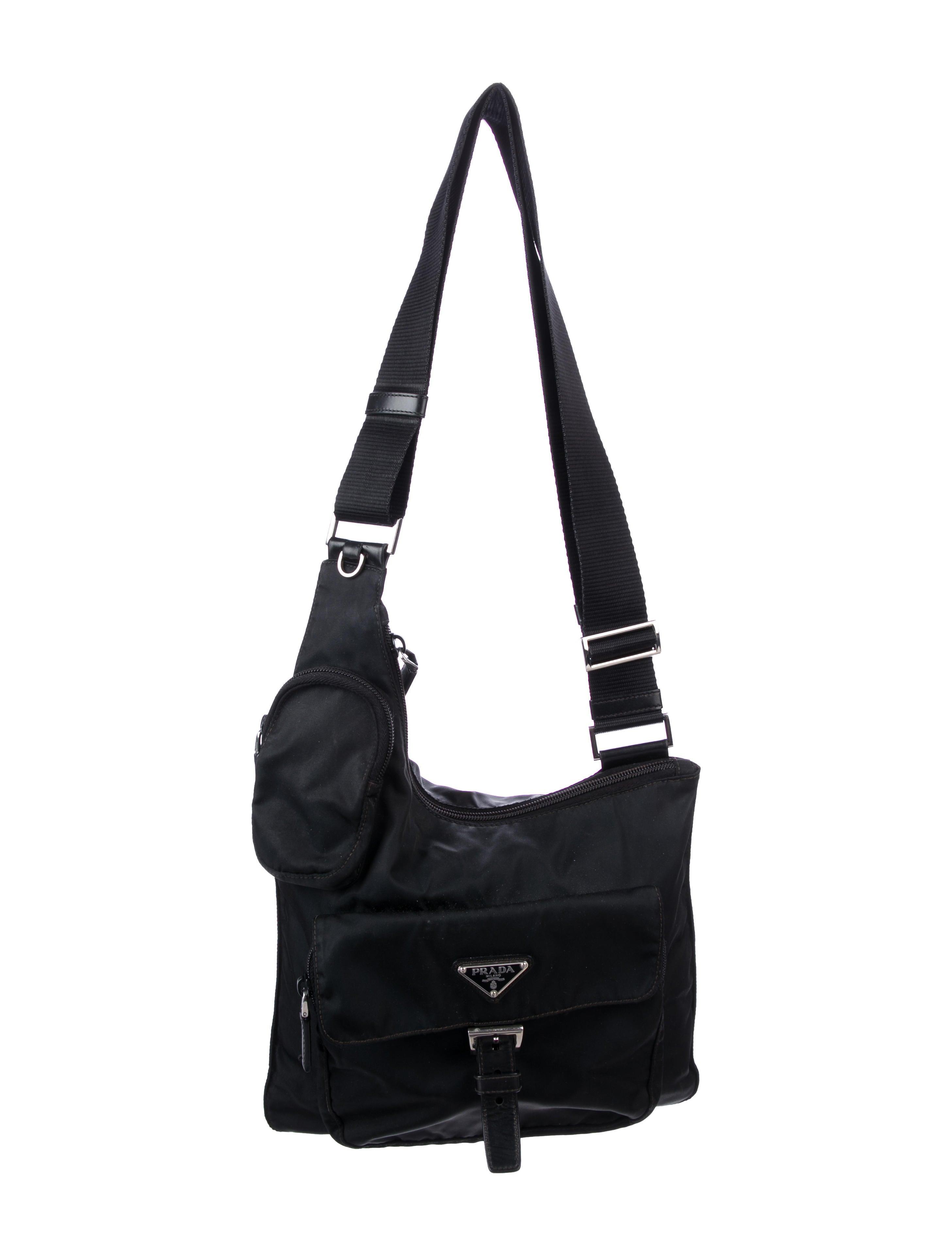 6710fa20bb2 Prada Tessuto Crossbody Bag - Handbags - PRA280770 | The RealReal
