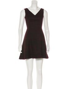 4c6317af6f2 Prada. Wool Mini Dress