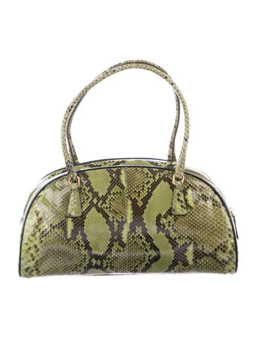 3f5374241f81 Prada Python Bauletto Bag - Handbags - PRA283698   The RealReal
