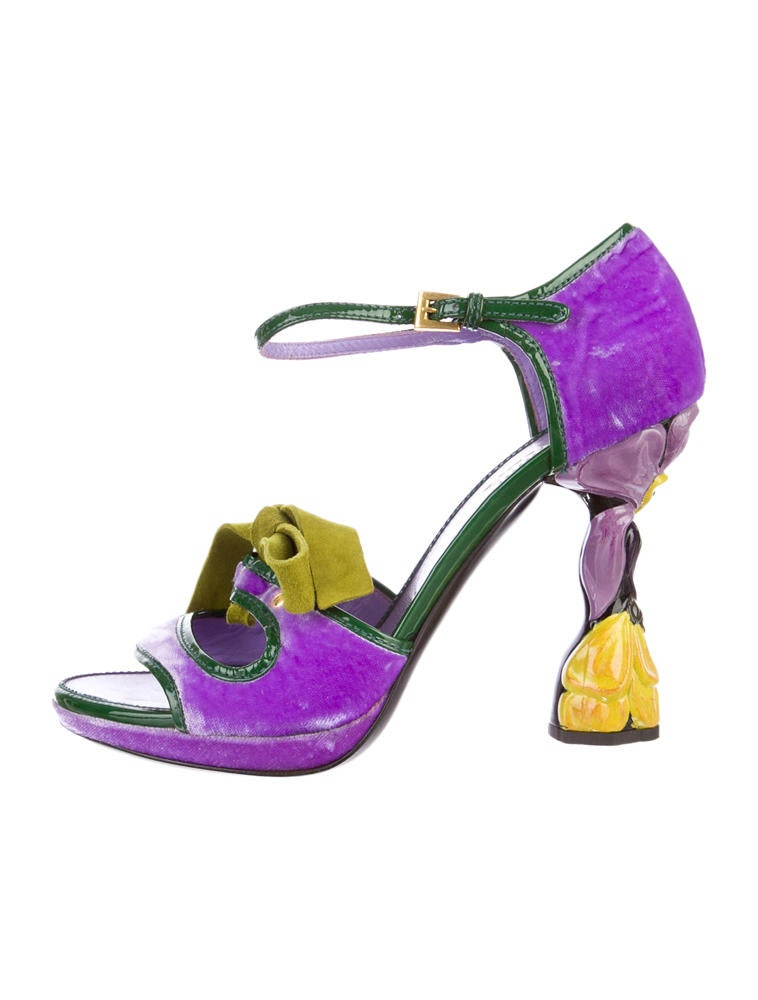 Sandals with Feathers Applied Spring/summer Prada r7w1LJGR