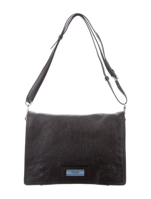 a78e13395009 Prada Glace Calf Etiquette Messenger Bag - Handbags - PRA284012 ...