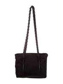 20c7b506048f17 Leather-Trimmed Nylon Shoulder Bag. $295.00 · Prada