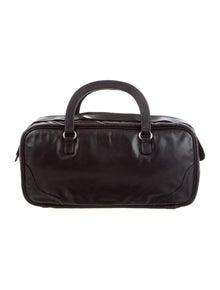 8f31a6ee92b3 Leather Bella Shoulder Bag. $595.00 · Prada