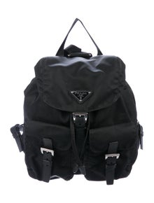 c1c93f444c2863 Prada Backpacks | The RealReal
