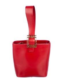 809744ff245b57 Prada. Vintage Bijoux Handle Bag