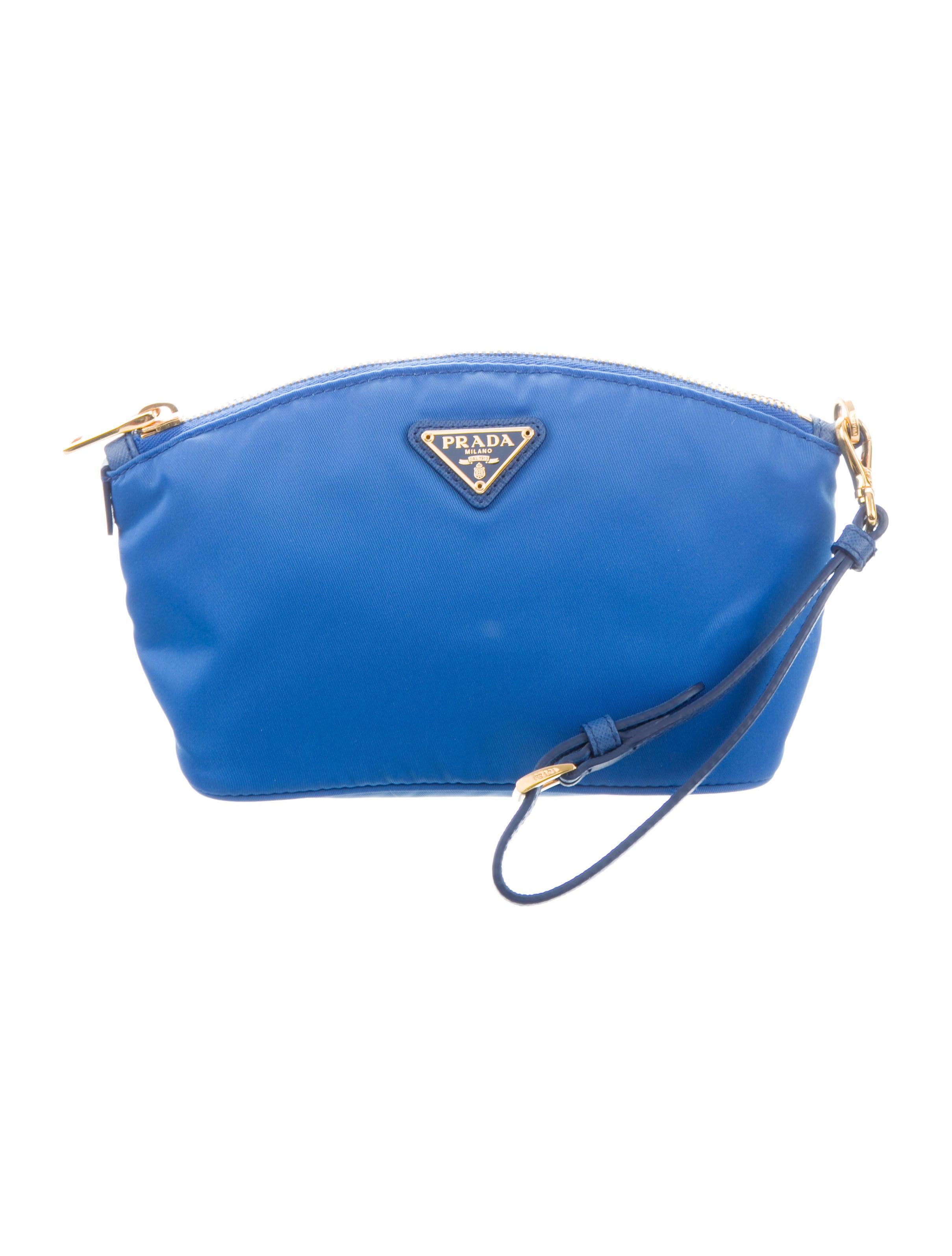 f03a68135c3a62 Prada Tessuto Nylon Wristlet - Handbags - PRA285390 | The RealReal