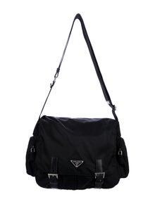 df0d01817671bc Tessuto Nylon Messenger Bag. $595.00 · Prada
