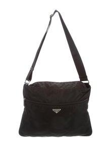 1890b013e Prada. Tessto Vela Messenger Bag