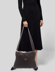 12b5428f9 Prada. Tessto Vela Messenger Bag. $525.00 · Gucci