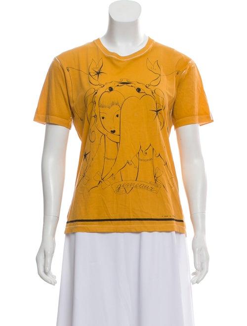 027d2e4b46784 Zodiac Print Short Sleeve T-Shirt