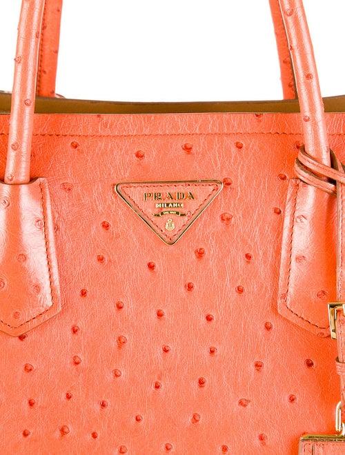 4979b810014 Prada Ostrich Double Tote - Handbags - PRA30836