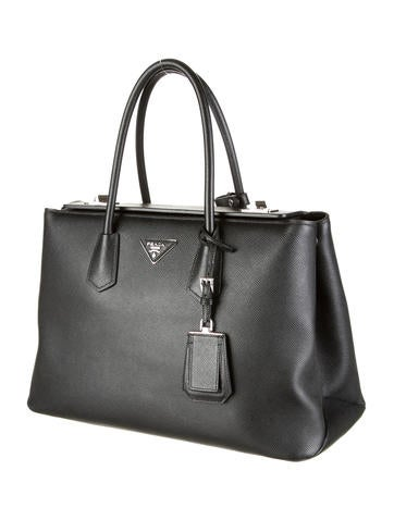 Saffiano Cuir Twin Bag