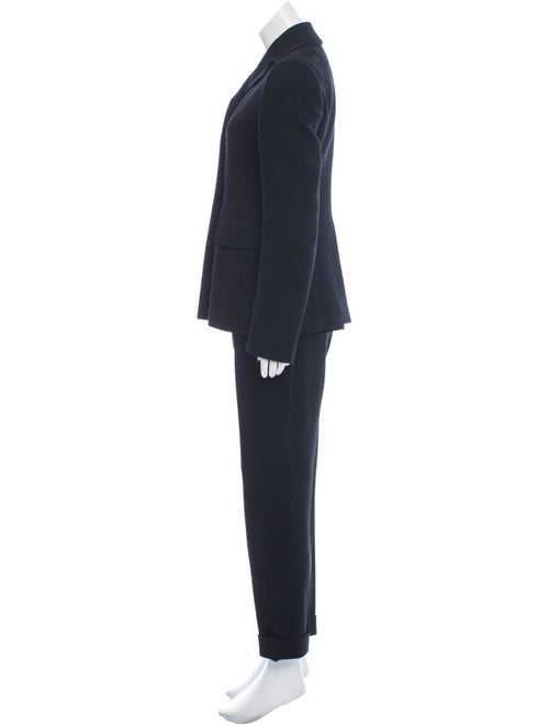 Wool Button-Up Pantsuit