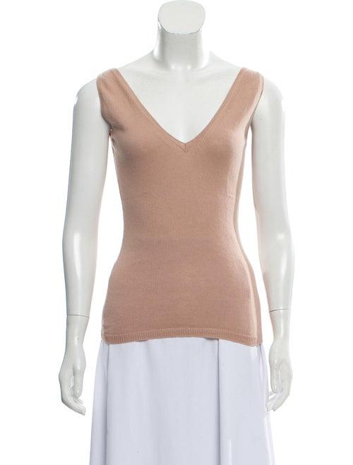 Cashmere Sleeveless Sweater by Prada