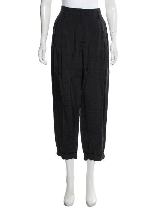 Prada HIgh-Rise Pleated Pants
