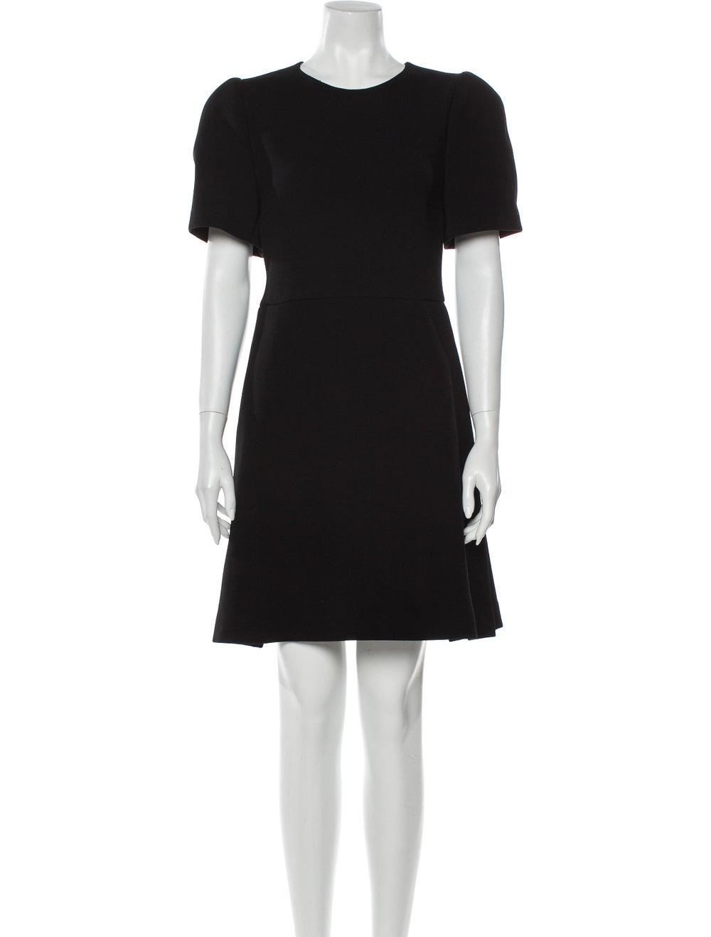 Prada Virgin Wool Mini Dress Wool - image 1