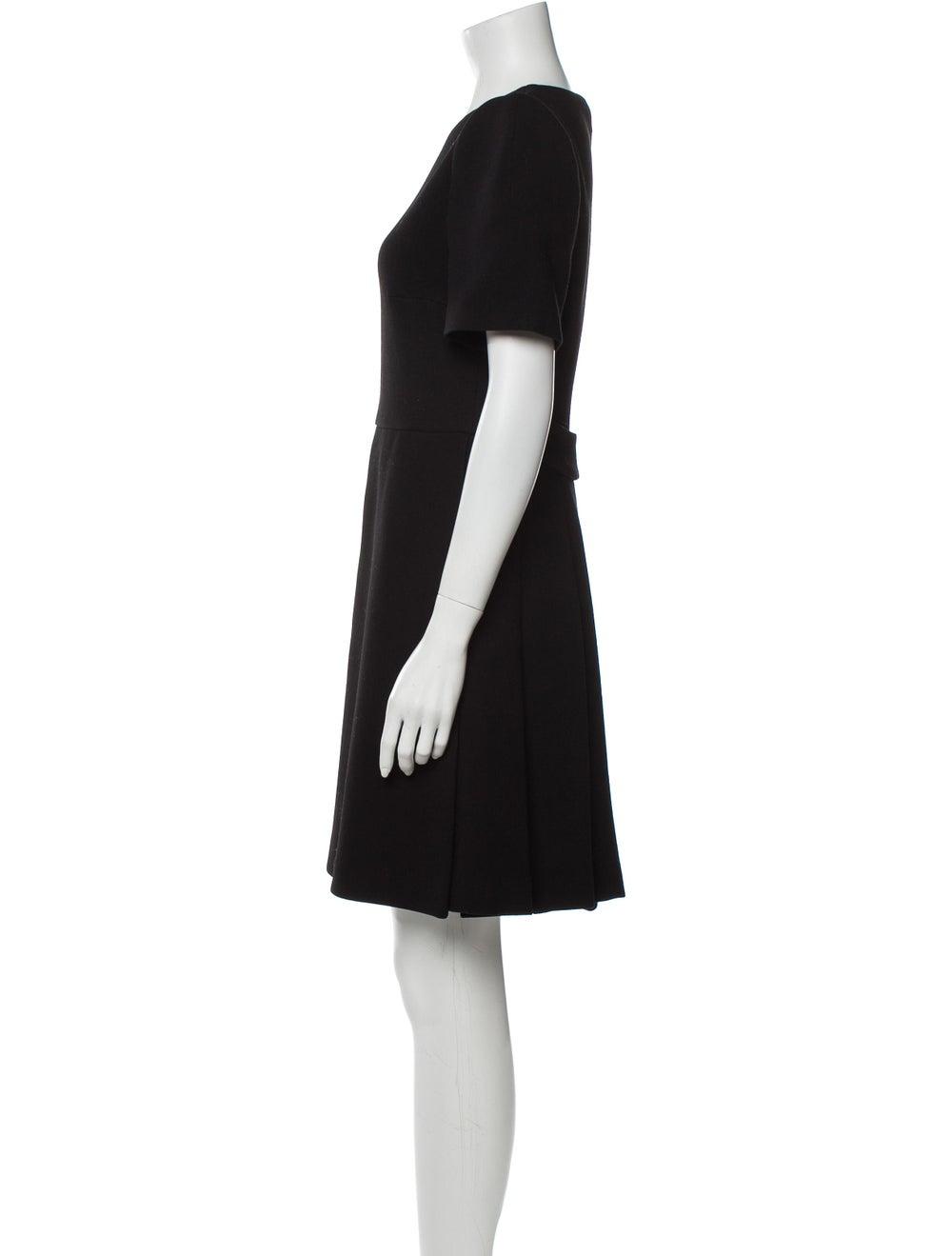 Prada Virgin Wool Mini Dress Wool - image 2