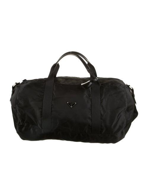 Prada Tessuto Duffel Bag Black