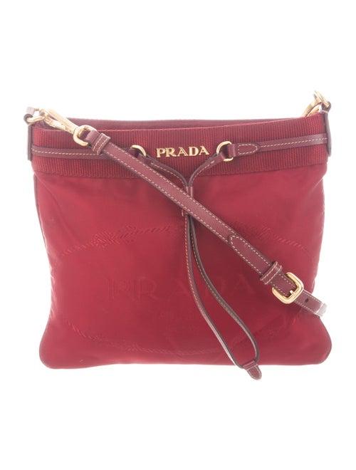 Prada Tessuto Shoulder Bag gold