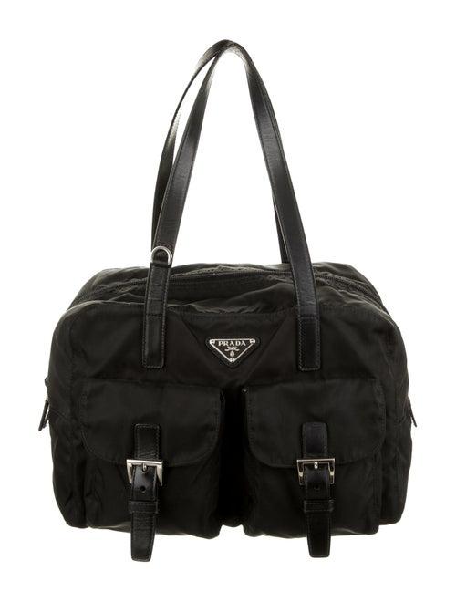 Prada Tessuto Shoulder Bag Nero