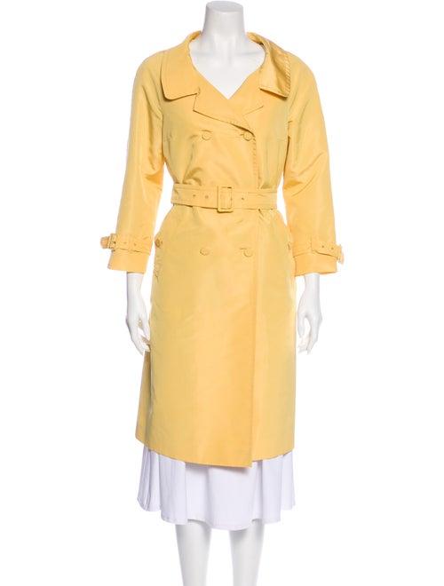 Prada Trench Coat Yellow