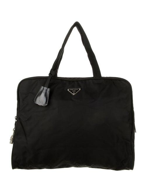 Prada Tessuto Handle Bag Black