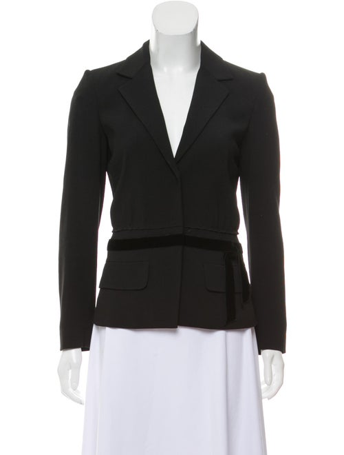Prada Wool Structured Blazer