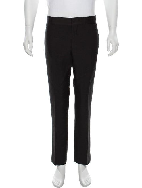 Prada Satin-Trimmed Tuxedo Pants black