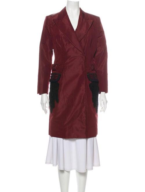 Prada Coat Red
