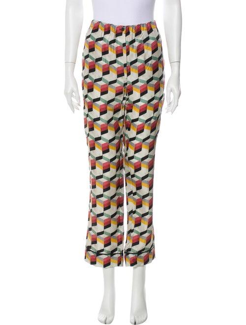 Prada 2017 Silk Pajamas