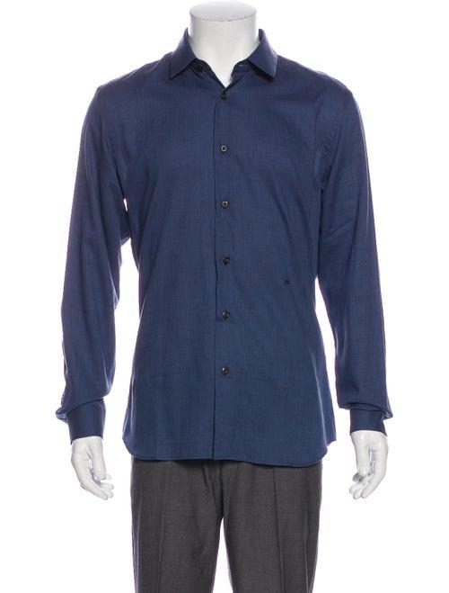 Prada Woven Dress Shirt w/ Tags