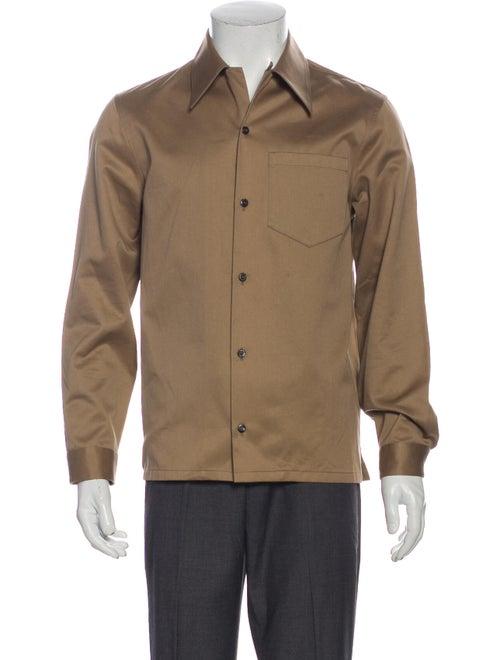 Prada Twill Button-Up Shirt