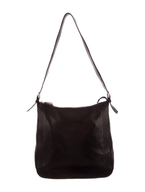 Prada Nappa Leather Hobo Black