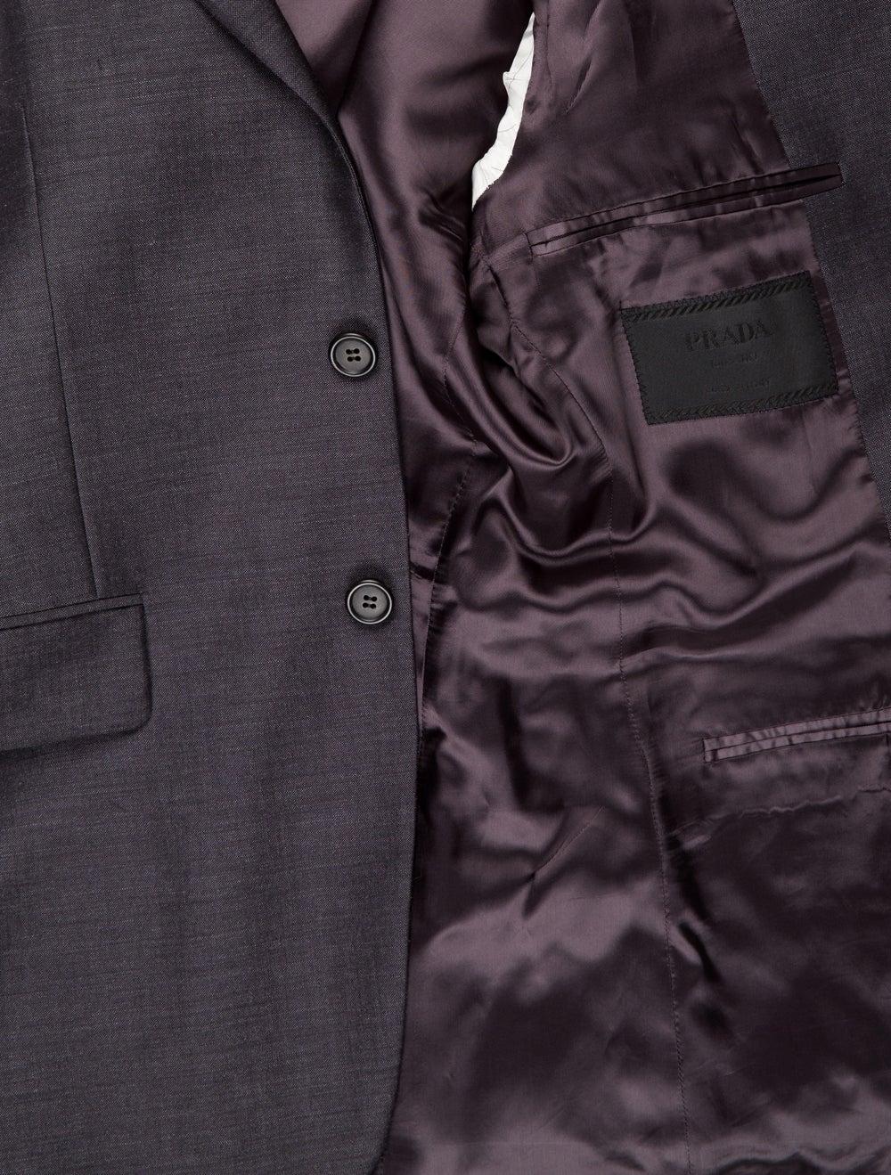 Prada Mohair Two-Piece Suit Grey - image 5