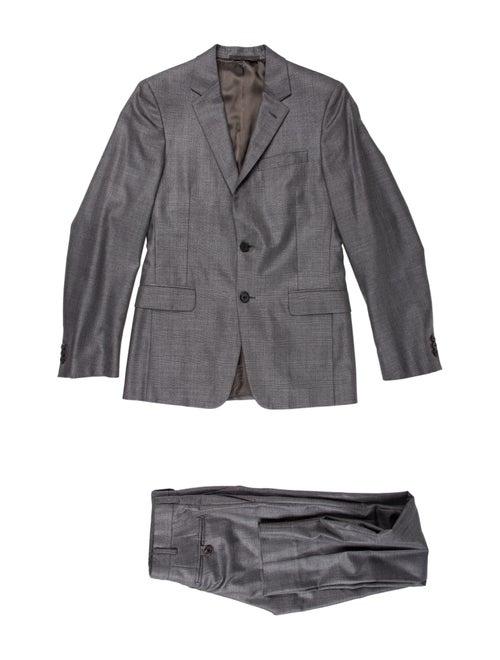 Prada Wool-Blend Two-Piece Suit grey - image 1