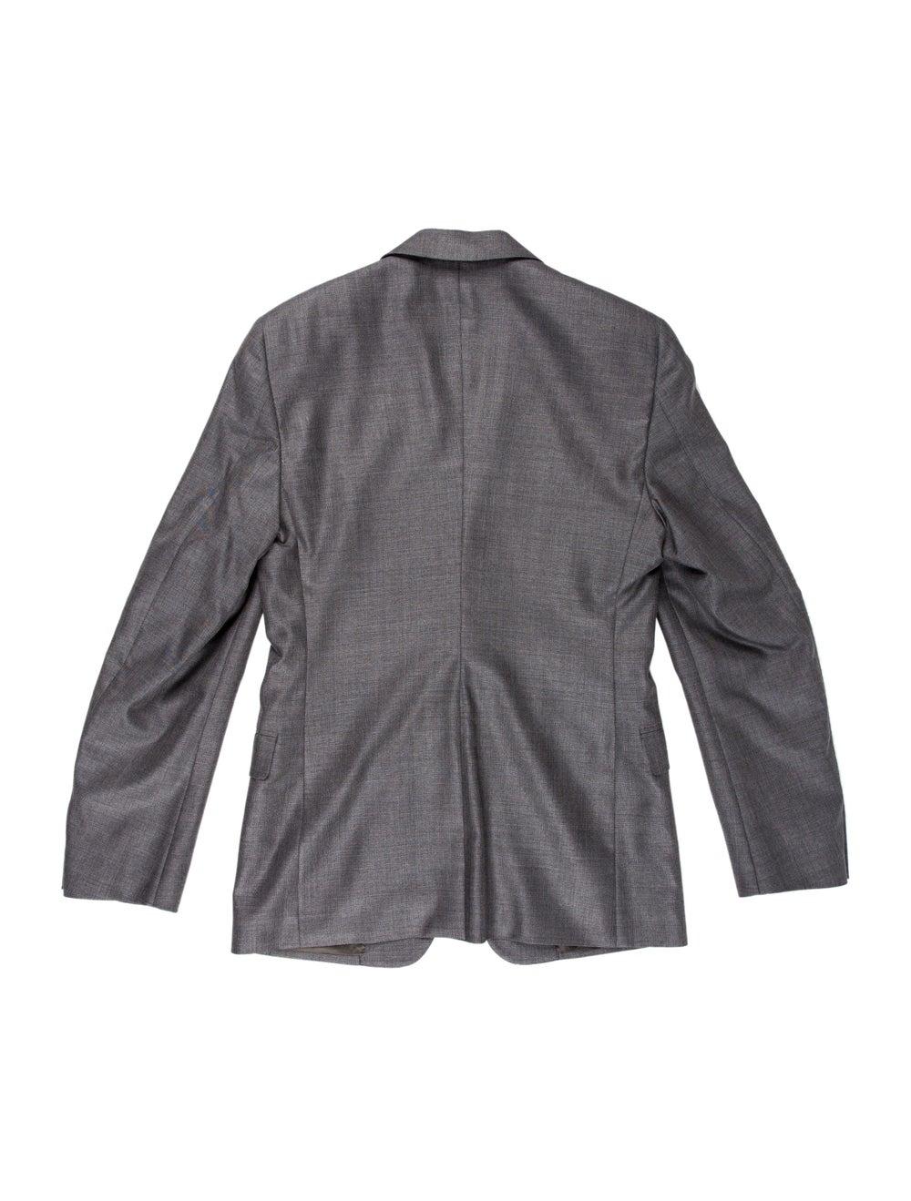 Prada Wool-Blend Two-Piece Suit grey - image 2