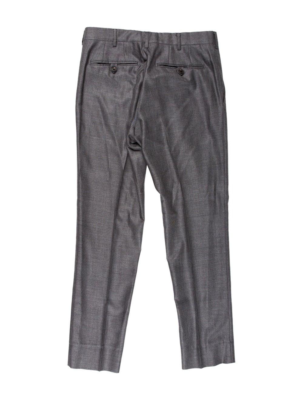 Prada Wool-Blend Two-Piece Suit grey - image 4