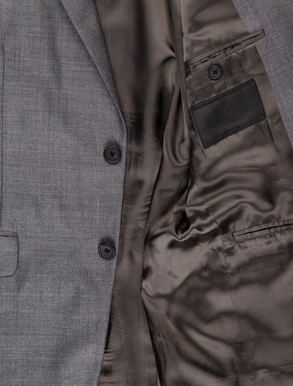 Prada Wool-Blend Two-Piece Suit grey - image 5